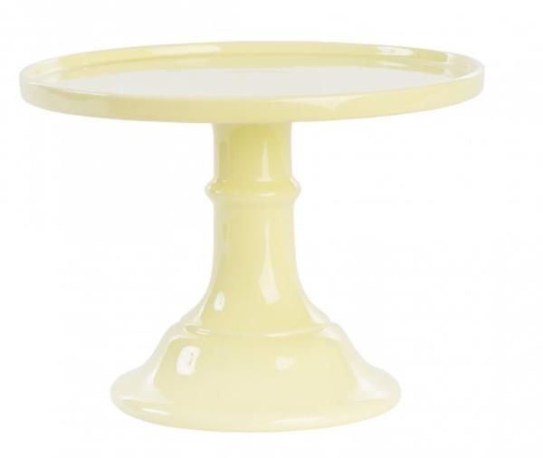 Κεραμική Βάση για Τούρτα Κίτρινη (L)