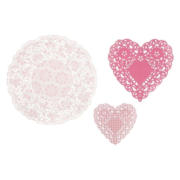 Τουρτοδαντέλες Ροζ