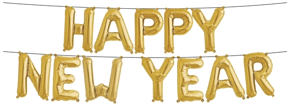 Happy New Year Balloons 20