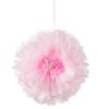 Picture of Blush Flower Pom Poms (set 3)