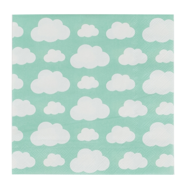 Picture of Napkins-Clouds