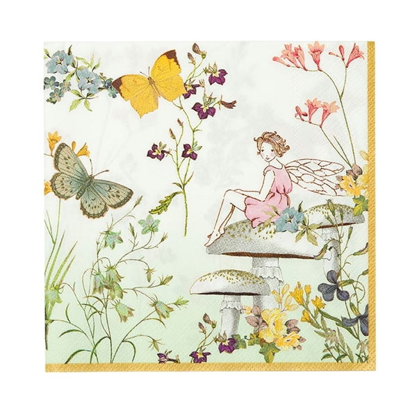 Picture of Paper napkins - Fairy