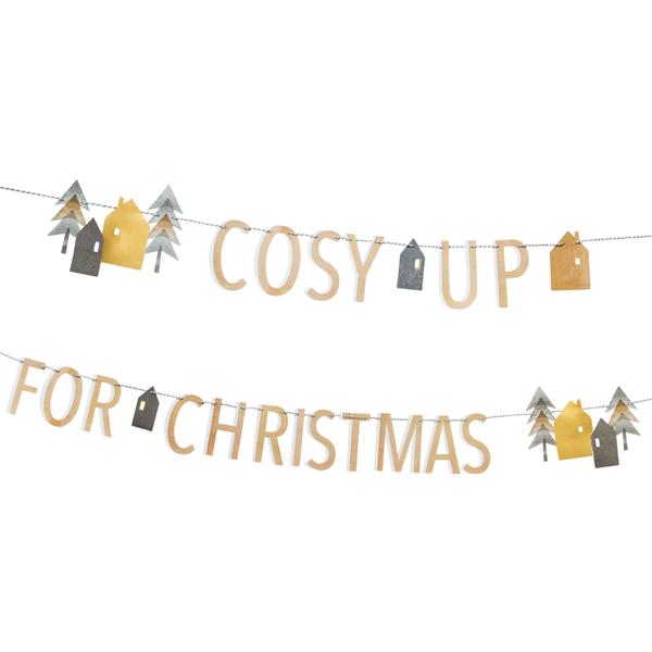 Γιρλάντα-COSY UP FOR CHRISTMAS