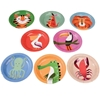 Picture of Paper Plates (17,5cm.) - Colourful Creatures