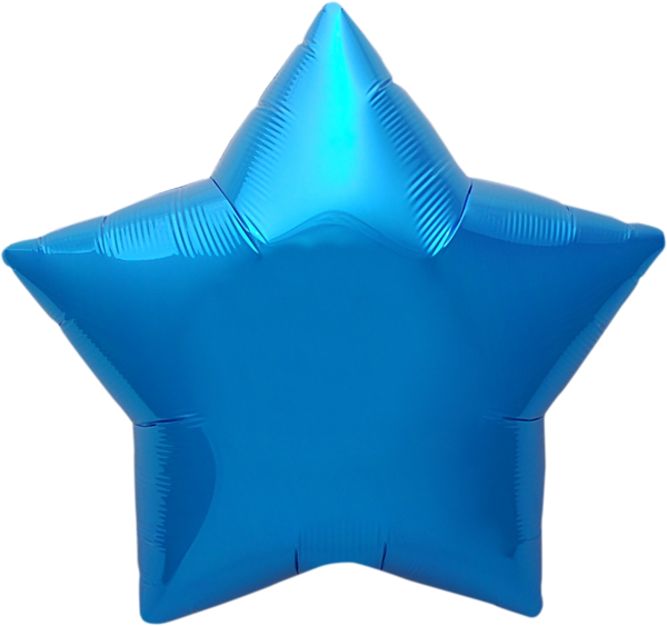 Picture of Foil balloon star - Blue (45cm)