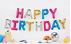 Picture of Foil Balloons Kit HAPPY BIRTHDAY multicolour
