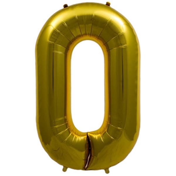 Μπαλόνι foil Κρίκος χρυσό 87εκ