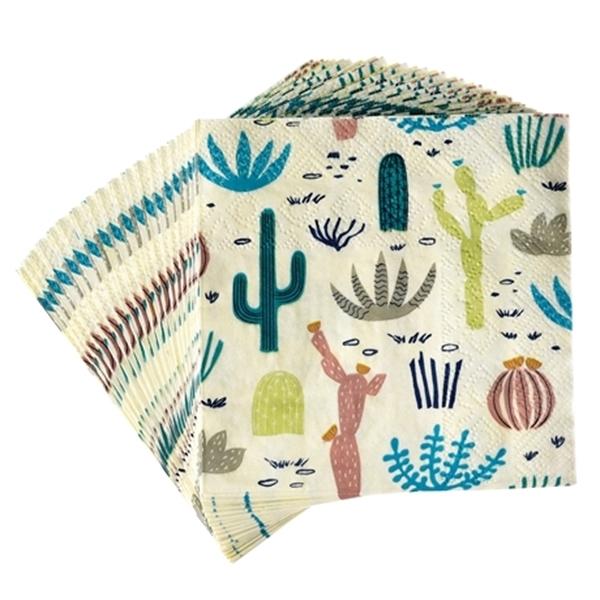 Picture of Napkins - Cactus