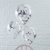 Picture of Silver Confetti Filled Balloons