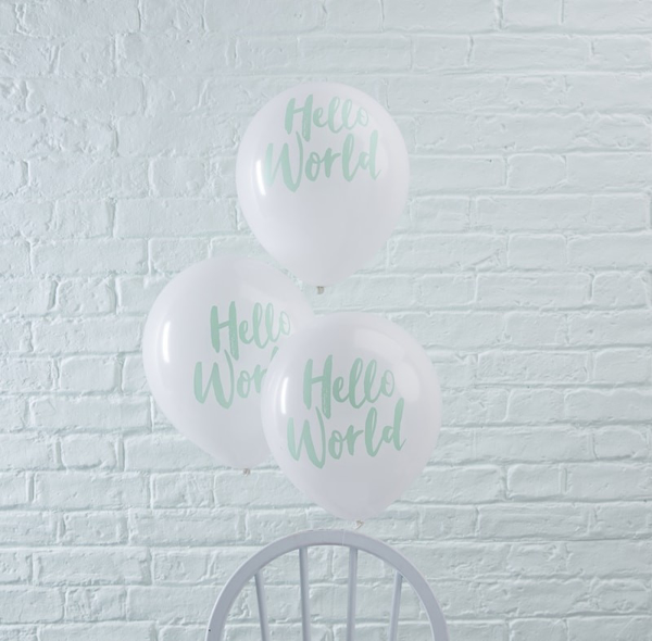 Picture of Balloons-Hello World (10pc.)
