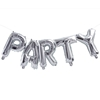 Picture of Foil Balloons Kit PARTY silver