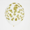 Picture of Balloons-confetti golden