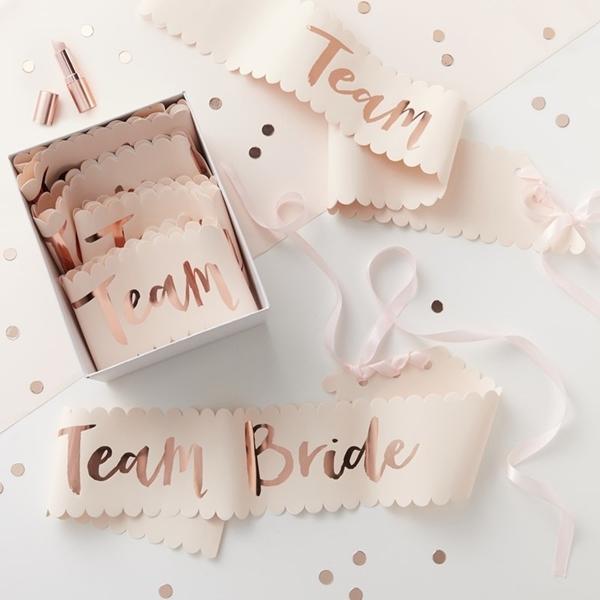Picture of Team Bride Sashes - Team Bride (6 Pack)
