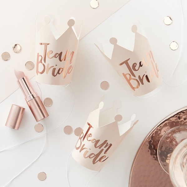 Picture of Party Crowns - Team Bride (5pc)