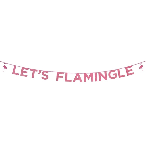 Picture of Let's Flamingle' Banner