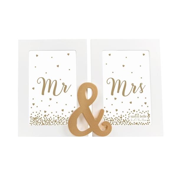 Κορνίζα  Mr & Mrs