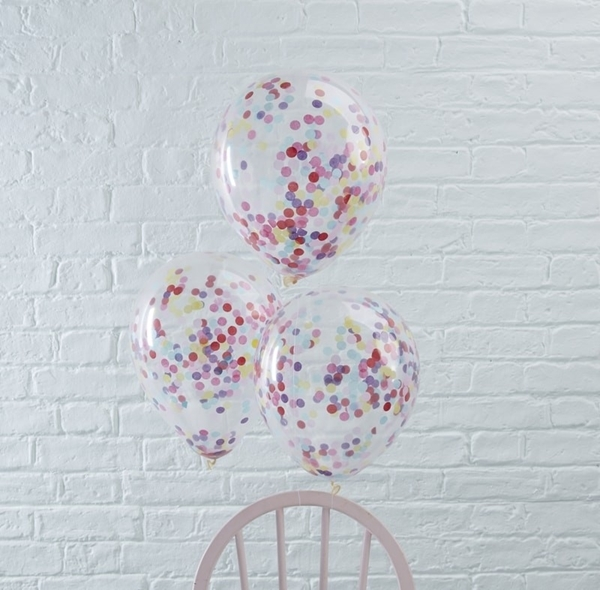Picture of Confetti Filled Balloons Pick And Mix