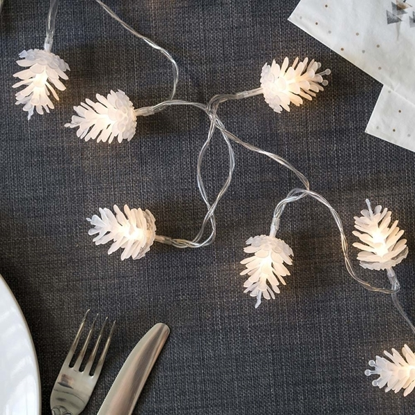 Picture of Pinecone Shaped Lights