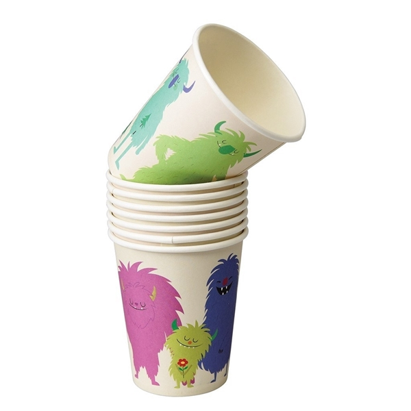 Picture of Paper Cups - Monsters of the world