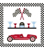 Picture of Table Backdrop-Racing car