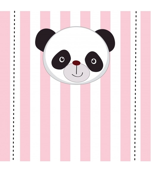 Picture of Table Backdrop-Pink Panda