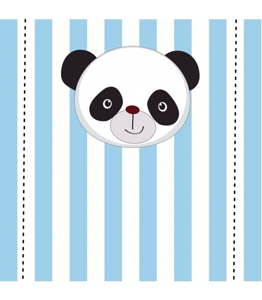 Picture of Table Backdrop-Blue Panda