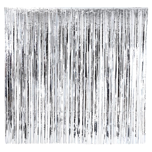 Picture of Glitterati Silver Foil Curtain ( 2m x 2m )