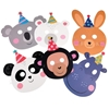 Picture of Party animal face masks (pack of 6)