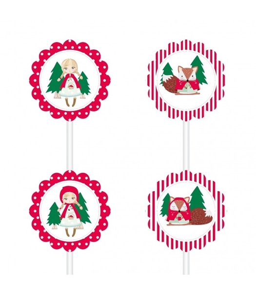 Picture of Cake toppers-Princess of the Woods