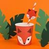 Χάρτινα ποτήρια-Αλεπού