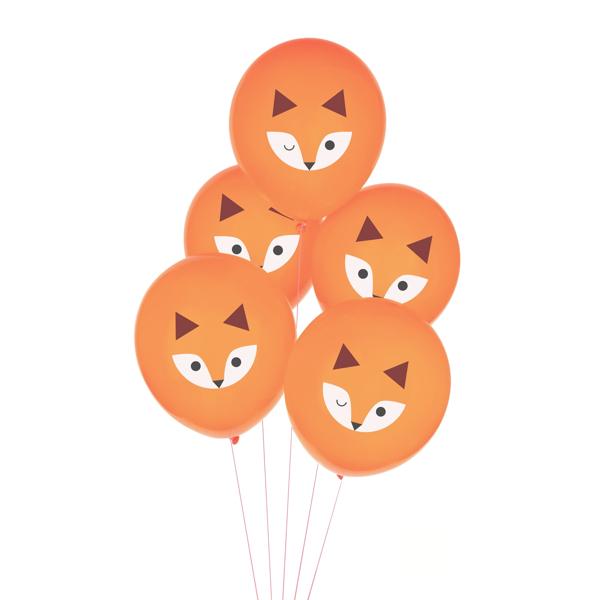 Σετ μπαλόνια - Αλεπού (5τμχ)