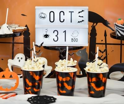 ΒΙΤΡΙΝΑ-θεμα Halloween