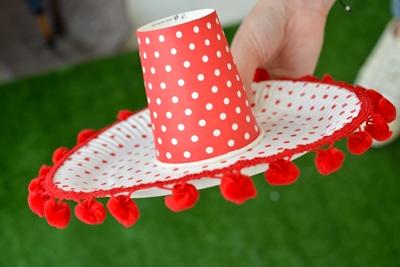 DIY-Μεξικανικο καπελο (sombrero)