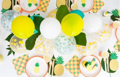 DIY-Γιρλαντα απο μπαλονια