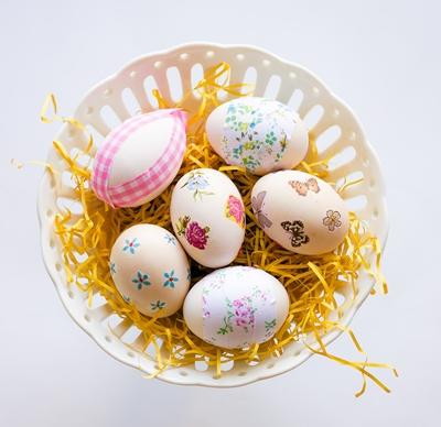 Ντεκουπαζ με πασχαλινα αυγα