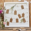 Picture of Guestbook - Wooden Peg & String & Tag Frame