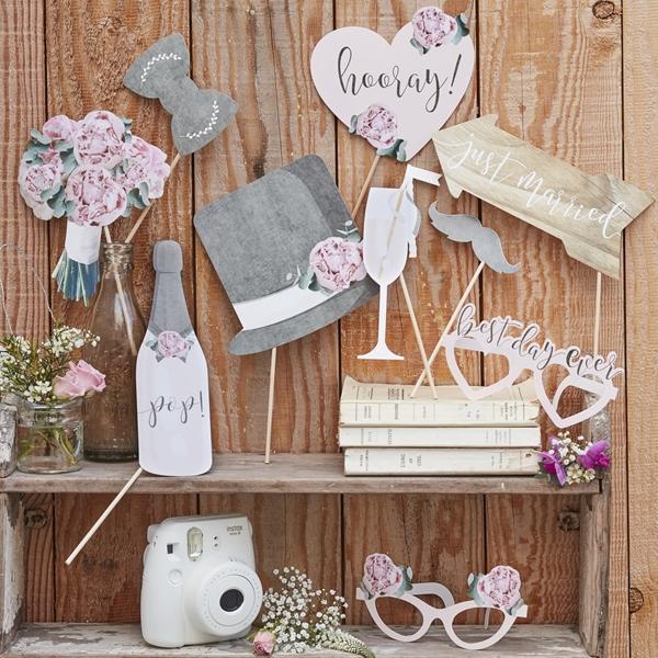 Photo Booth Γάμου - Rustic