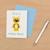 Κάρτα ευχών- It's a Baby Boy