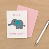 Picture of It's a Baby Girl Card