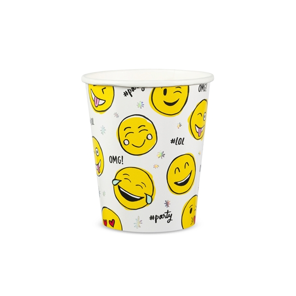 Picture of Paper Cups-Emoji