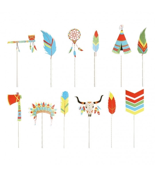 Picture of Cake toppers-Indians