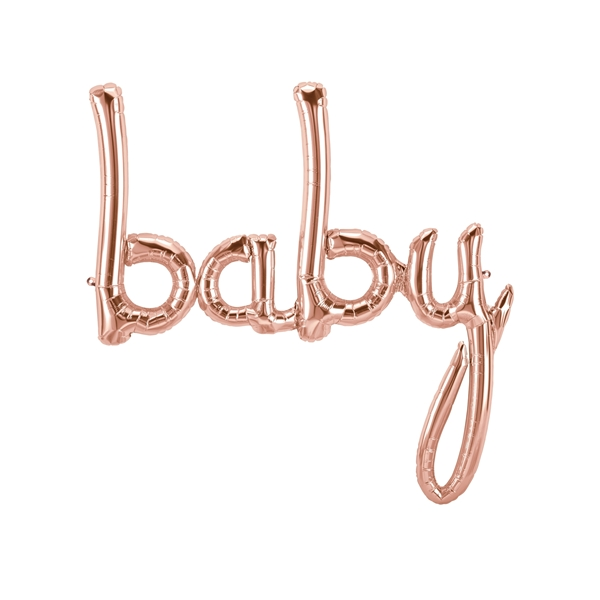 Picture of Foil Balloons Kit BABY rose gold