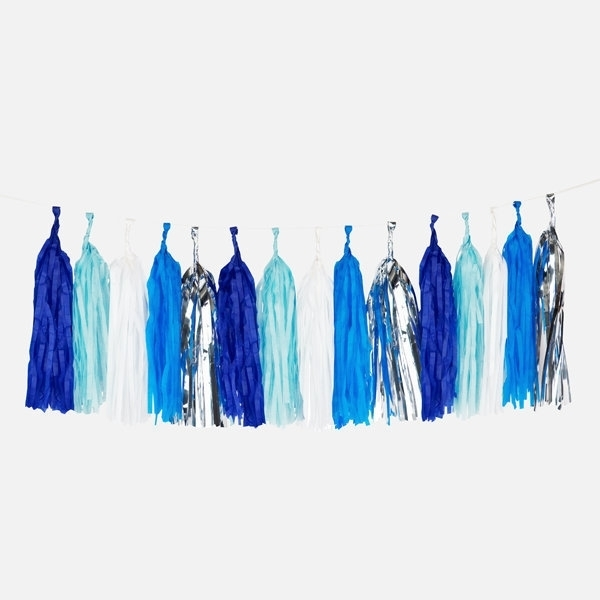 Picture of Blue Tassel Garland - My little day