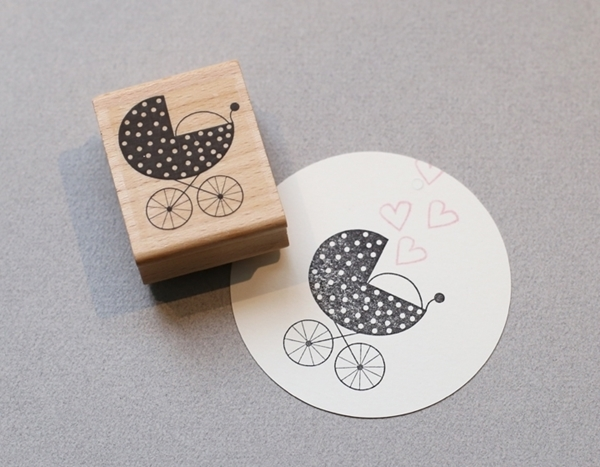 Picture of Rubber Stamp Stroller