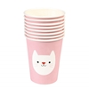 Picture of Paper Cups - Pink Cat