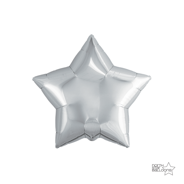 f13ea5566a3 Μπαλόνι Foil Αστέρι Ασημί 23cm
