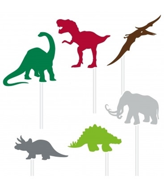 Picture of Cake toppers-Dinosaurs