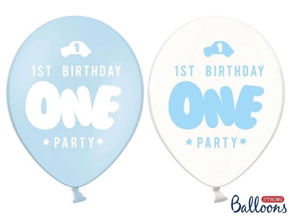 Picture of Balloons- One party Light blue