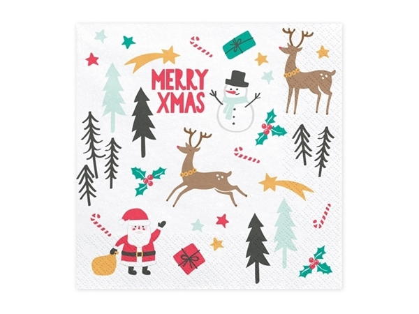 Picture of Napkins Merry Christmas