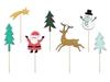 Διακοσμητικά sticks για γλυκά - Merry Christmas